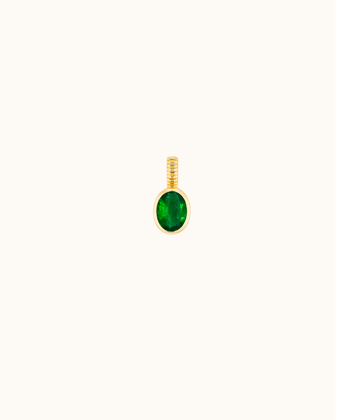 Magnetic Emerald Pendant