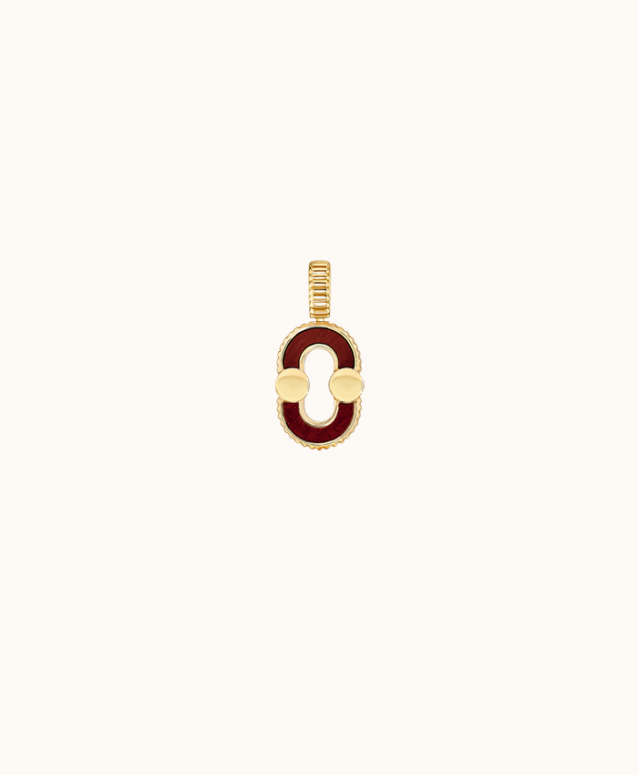 Pendant Magnetic Twist Gold