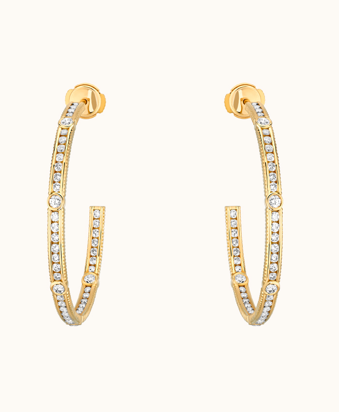 Créoles Diamant Rayon XL